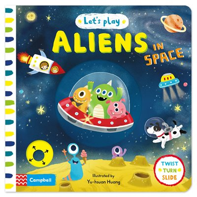 Book cover for Let's Play Aliens in Space